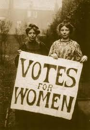 Women's suffrage in the United Kingdom. Img from Wikipedia