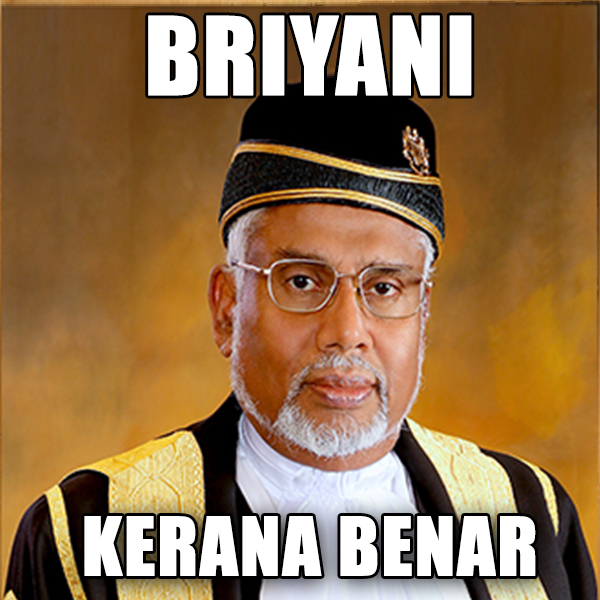 In all seriousness, Justice Hamid, if you're reading this, we'd LOVE to try your briyani. Image from AskLegal
