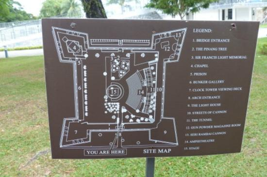 """The """"star-shaped"""" design of the fort. Image from Trip Advisor."""