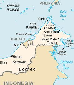 Sipadan and Ligitan's location. Img from richland2's Google sites.