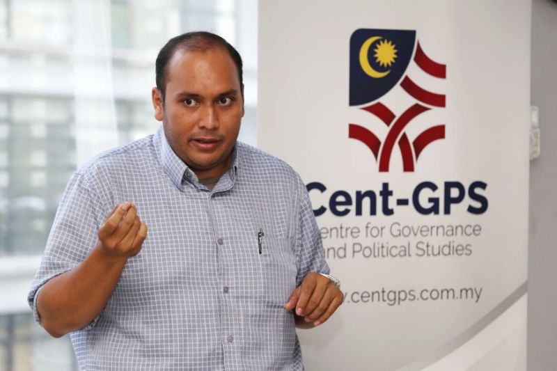 The lead researcher who presented the study. Image from Yahoo News Singapore.