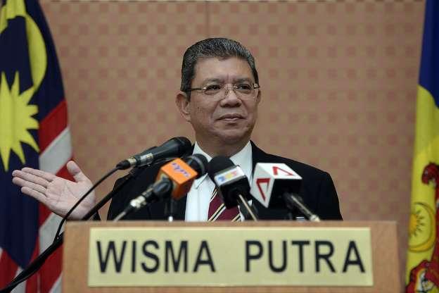 Foreign Minister Datuk Saifuddin Abdullah. Image from MSN