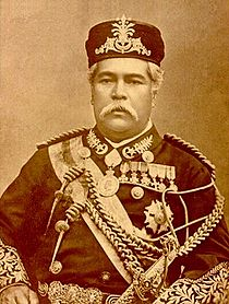 The Undang Undang Tubuh was during Sultan Abu Bakar's time, the current Johor Sultan's great-great-grandfather. Img from Wikipedia.