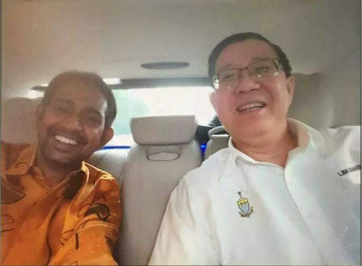 Mebe cos he knows Guan Eng personally? Img from jawaber6.blogspot.com