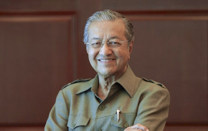 Picture of regular Mahathir, to wipe the earlier ones from your mind. Img from SevenPie.
