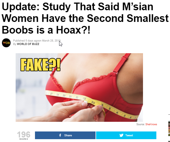 world of fake boobs