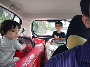 Like driving around town... Photo from Mikkail Johari