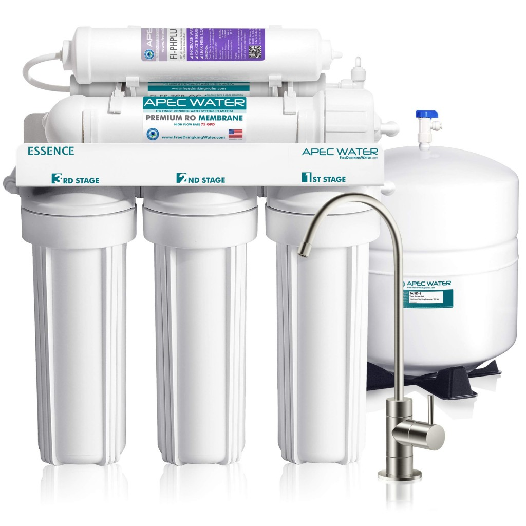 One of them fancy expensive reverse osmosis filters for your house. Image from Amazon