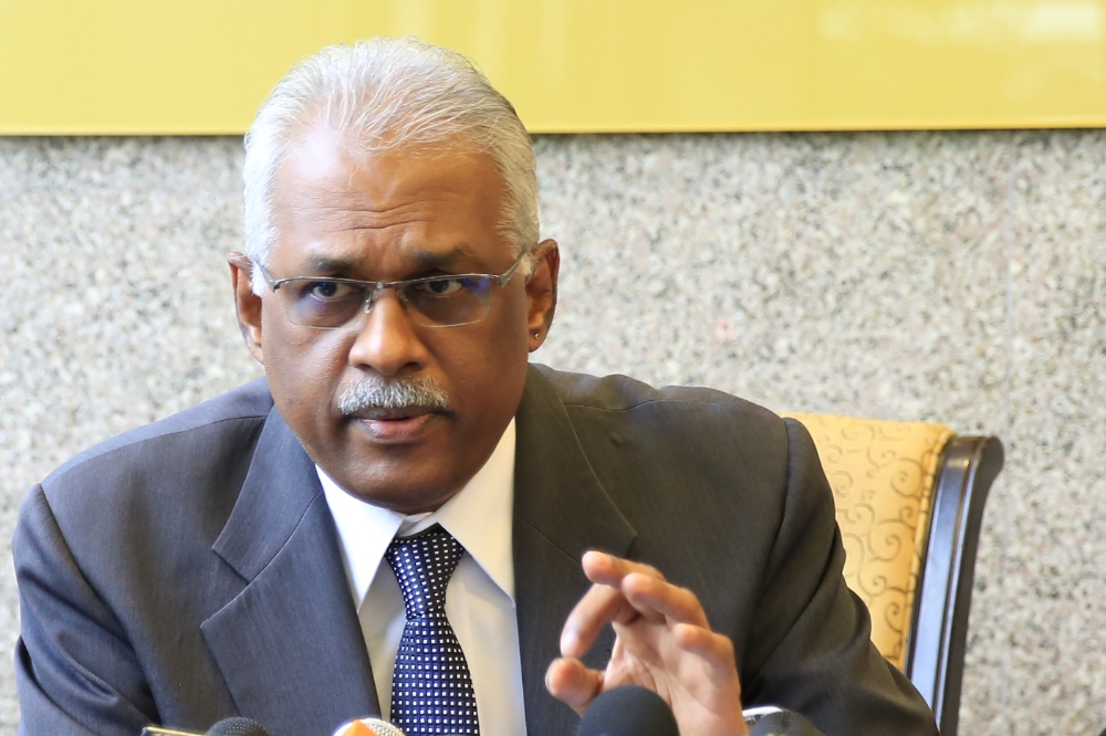 Charles Santiago. Image from Malaysian Times