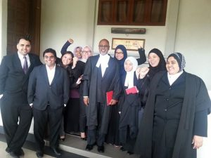 The winning lawyers. We dunno which is which, honestly. Img from Keadilan Daily.