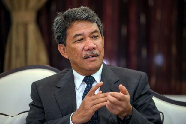 UMNO's Acting President Mat Hasan. Image from Perak Today