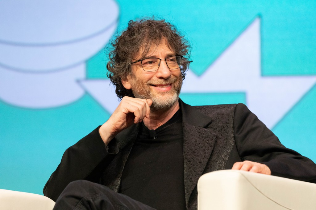 Neil Gaiman, author extraordinaire. Image from Wiki Commons