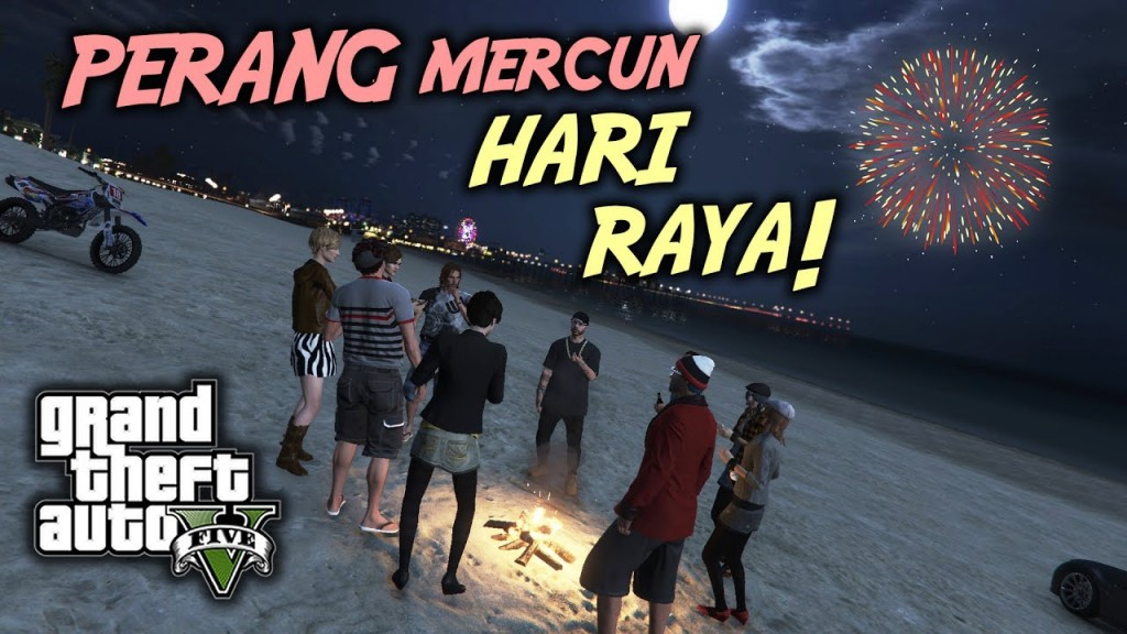 Pls dun use mercuns in your conquest against other kampungs, use lemang instead. Image from OOHAMI