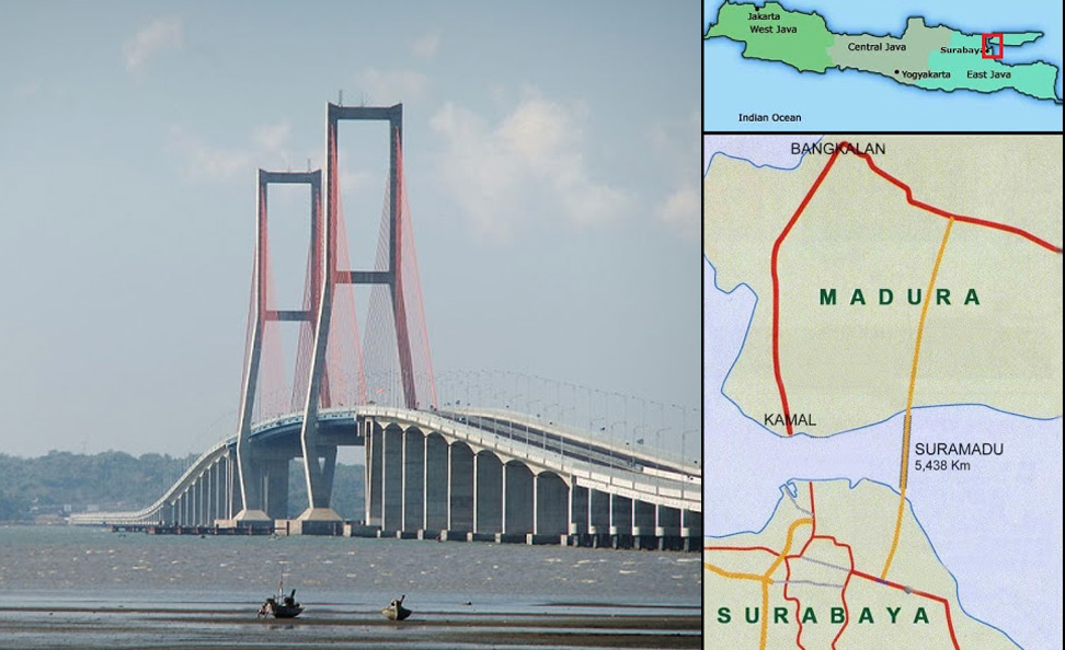 Exhibit A: The Suramadu Bridge connecting Surabaya and Madura. Image from The Indonesian Way.