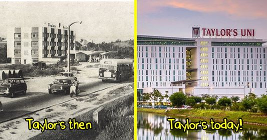 Taylor's then and now!