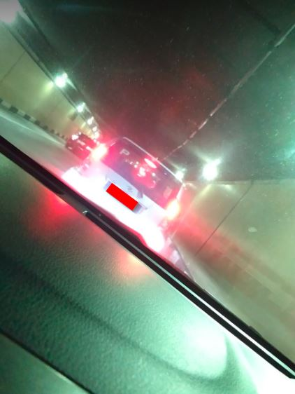 Another writer just happened to drive through the morning traffic in the Smart Tunnel at the time of writing.