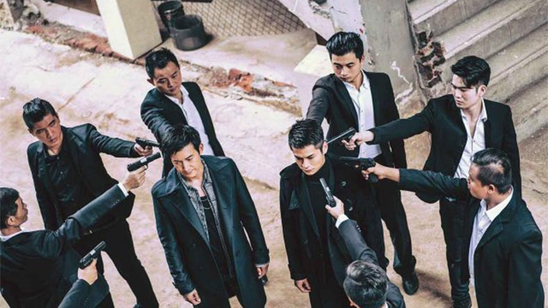 """""""Shoot me and you'll never know if I was a double or triple agent!"""" Image from: TVB USA"""