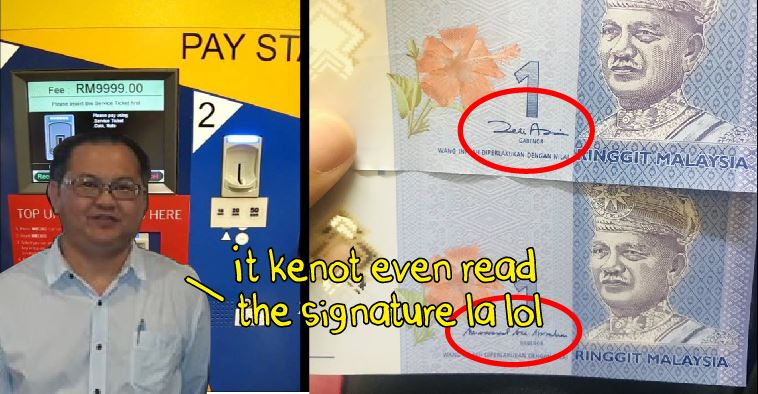 No, Zeti's signature isn't why your RM1 note gets rejected