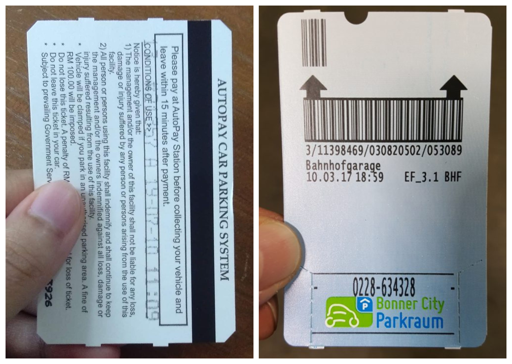 Magnetic Stripe (left) and Thermal Barcode (right). Img from Weber Packaging Solutions