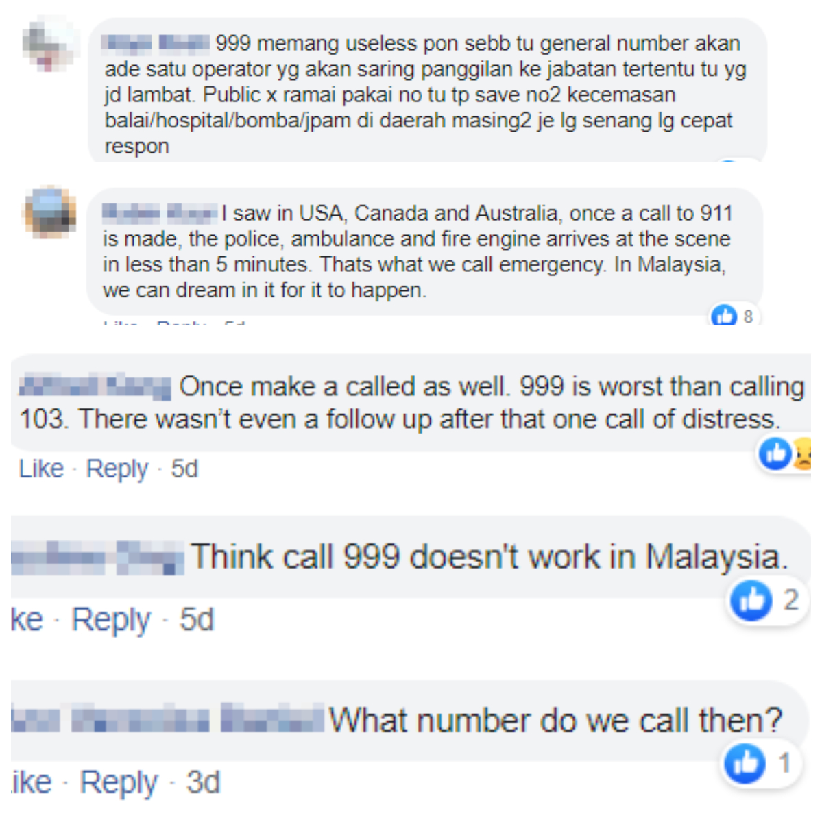 Yea, we get your concerns. Comments screengrabbed from Thivyah's Facebook post.