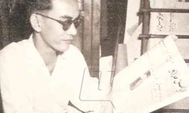A Samad Ismail aka Pak Samad, one of PAP's co-founders, during his stint as Utusan's Assistant Editor in 1950. Img from Utusan.
