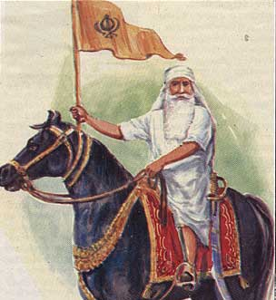 Bhai Maharaj Singh traveled across the Jalandhar Doab, contacting many Sikh leaders to join him in his struggle. Image from: Sikh Siyasat News