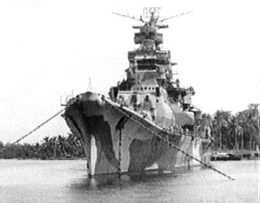 A Singapore warship docked in Singapore named TAKAU. What a name to pick a fight. - Image from combinedfleet.com