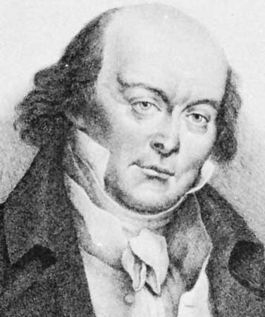 Pierre Jan de Beranger is believed to be the composer for the Terang Bulan melody. Img from Britannica.