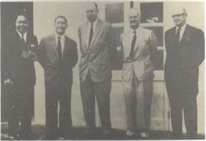 Some of the Cobbold Commission members, est Jan 1962. Img from the National Archives.
