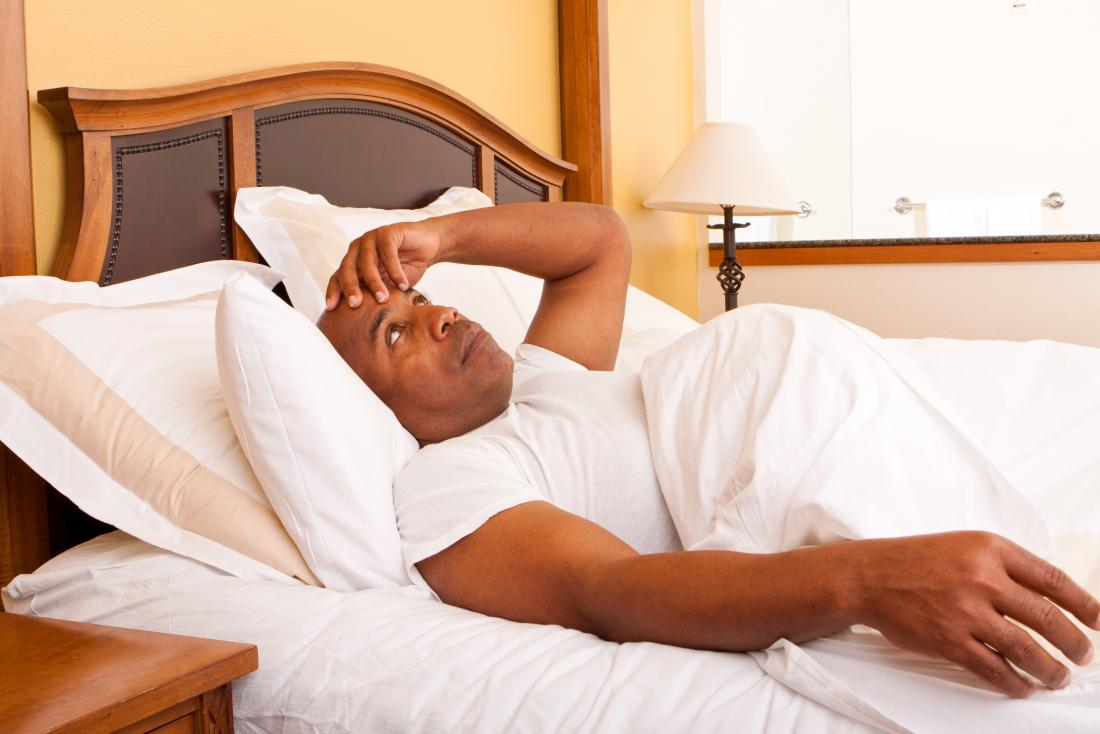 Not feeling like getting up will make you late for work. Img from Medical News Today.