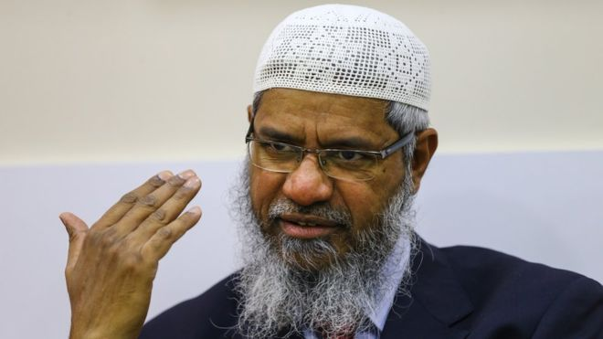 Dr. Zakir Naik. Image from: BBC