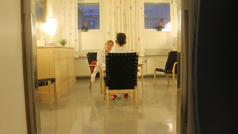 Sweden's sexual assault centre. Image from Sverigesradio.
