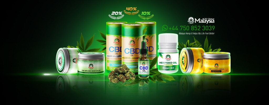 Promo for CBD oils by Malaya Hemp, the hemp oil company in question. Image from: CBD Oils Malaysia FB page
