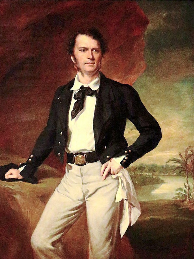 James Brooke, the White Rajah. Image from: RojakDaily