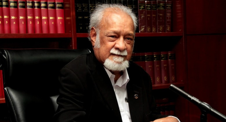 Karpal Singh backed Chin Peng's bid before his own untimely death in 2014. Image from: goodnews.com.my