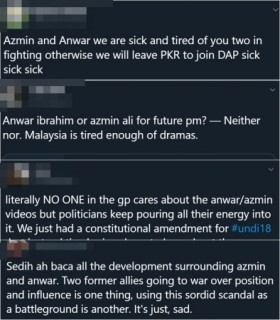 Some thoughts regarding the Anwar-Azmin feud on Twitter