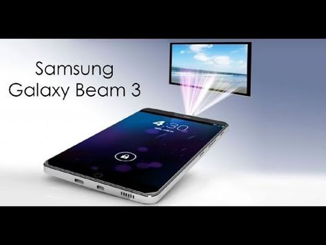 The Samsung Galaxy Beam. Img from Tech Reminder via Pinterest. #notsponsored
