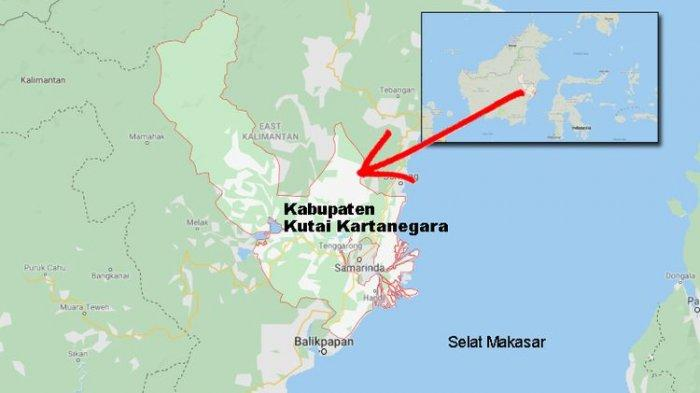 The Kabupaten Kutai Kartanegara in East Kalimantan, where the new capital is planned to be. Img from Serambi Indonesia.