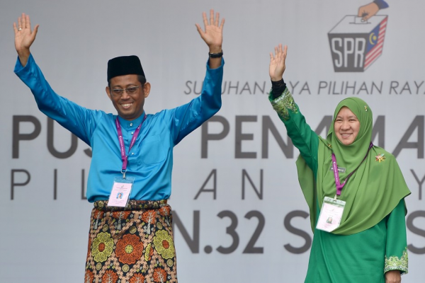 Seri Setia PH and PAS candidates. Image from The Star