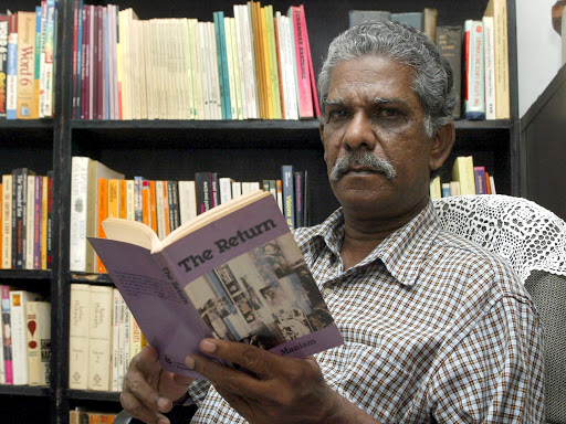 K.S. Maniam and his novel, The Return. Img from The Star