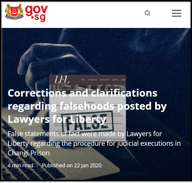 Click image from the Singapore govt to read more.
